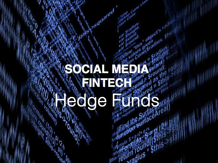 social media fintech and hedge funds, HedgeThink