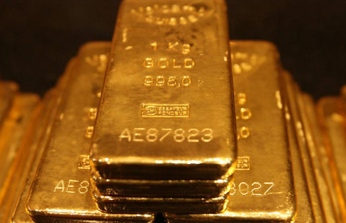 Gold bars https://upload.wikimedia.org/wikipedia/commons/a/a5/Gold_Bars.jpg