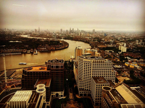London Tech Scene View from Level39 Canary Warf, image by Dinis Guarda