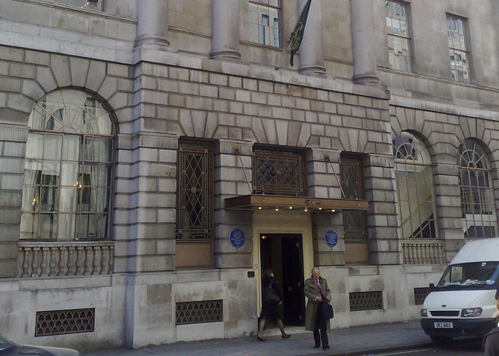 The Lansdowne Club, London
