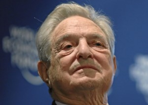 George Soros, co-founder of the Quantum Fund