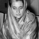 Indira Gandhi, 3rd Prime Minister of India Image: Wikimedia Commons