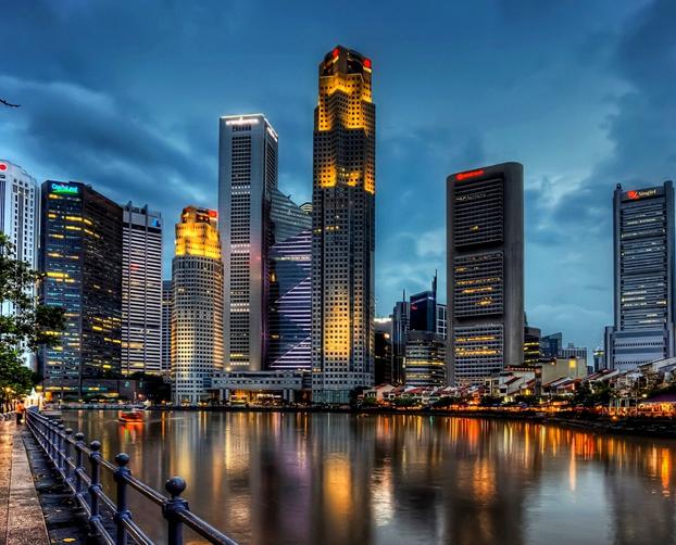 skyscrapers singapore