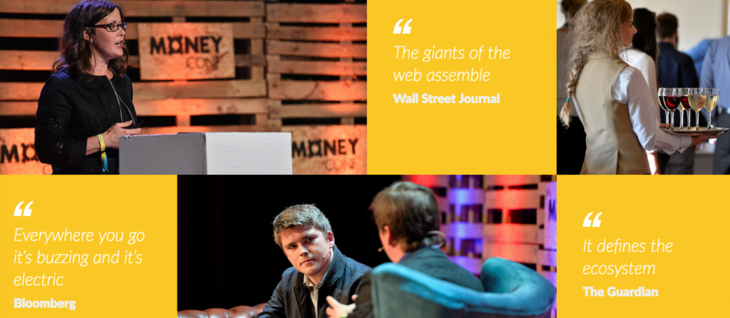 MoneyConf is an invite-only event