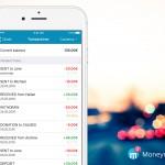 Moneymailme app send and receive money transactions dashboard