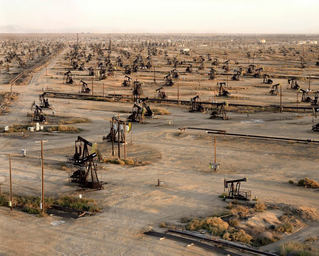oil fields in middle east