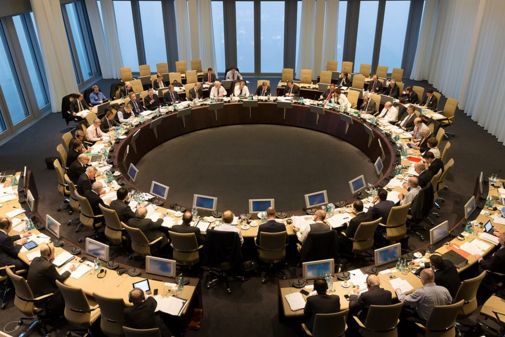 ecb-meeting-1024x682 Experts Warn: The ECB Isn't 'In A Rush' Despite The Biggest Slowdown In 5 Years