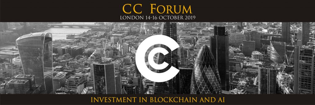 Blockchain Event CC Forum To Return To London After Last Year's Success