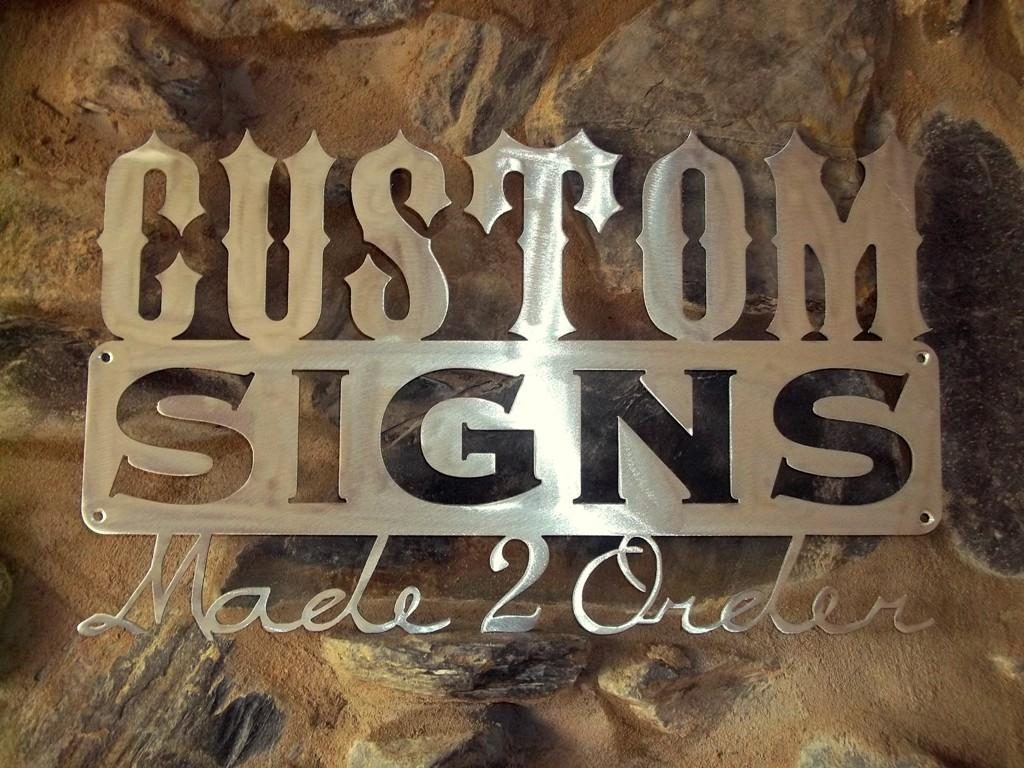 Custom signage: A Tool for Business Recognition