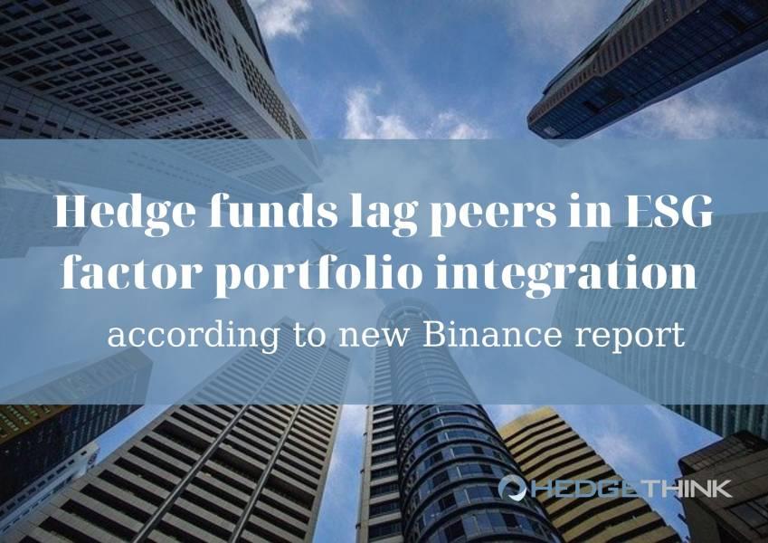 Hedge funds, investment, esg, esg investment, binance