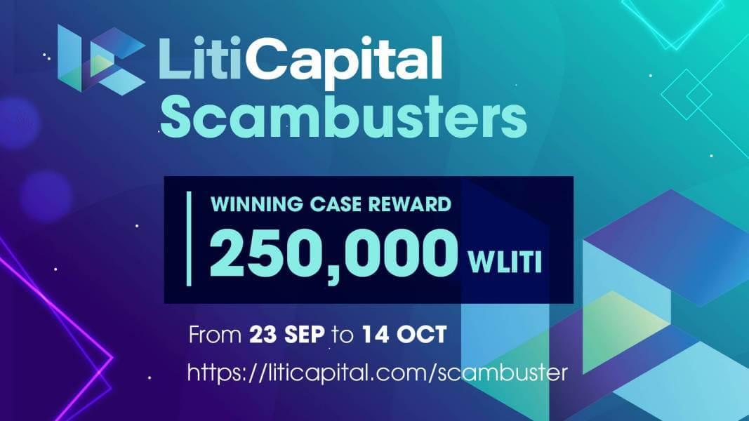 Scambusters, Liti Capital, Crypto, Crypto Scam, Crypto Fraud, Cryptocurrency, Crypto community, LITI, wLITI, Lititoken
